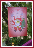 HO-HO-HO-28x40-House-Flag-Fly-Me-The-Sunny-Breezes-Decorative-Flags-Collection-from-T-Cards-by-Bad-Ballerinas-Christmas-Photo-Borders
