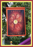 Happy-Halloween-28x40-House-Flag-Fly-Me-The-Sunny-Breezes-Decorative-Flags-Collection-from-T-Cards-by-Bad-Ballerinas-Halloween-Photo-Borders