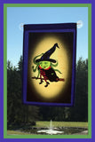 I'm-Flying_-12x18-Garden-Window-Flag-Fly-Me-The-Sunny-Breezes-Decorative-Flags-Collection-from-T-Cards-by-Bad-Ballerinas-Halloween-Photo-Borders