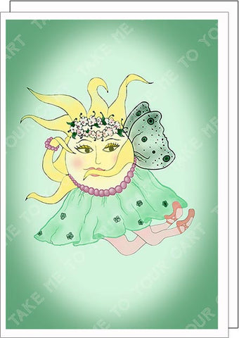 La-Sunphide-The-Sunerinas-Artisan-Greeting-Card-designed-by-T-Cards-by-Bad-Ballerinas-Classy