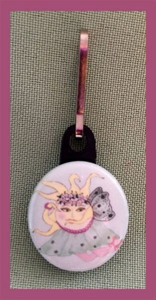La-Sunphide-The-Sunerinas-Ups-and-Downs-Zipper-Pulls-Collection-designed-by-T-Cards-by-Bad-Ballerinas