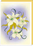 Lilies-Easter-Spring-Holiday-Fare-Sympathy-Heartfelt-Moments-T-Cards-by-Bad-Ballerinas