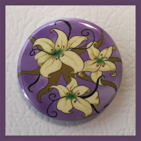 Lilies-Magnet-Easter-Spring-Holiday-Fare-Cling-Me-The-Magnetic-Rays-Collection-T-Cards-by-Bad-Ballerinas