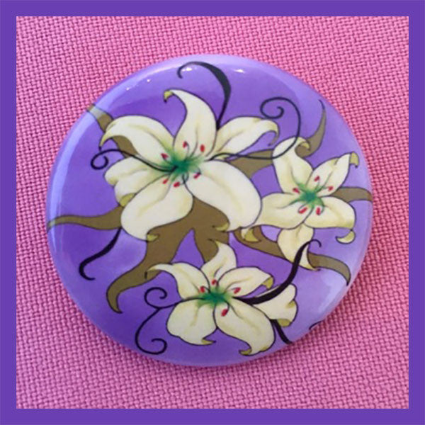 Lilies-Spring-Holiday-Fare-Pin-Me-The-Buttons-You-Pin-Collection-T-Cards-By-Bad-Ballerinas