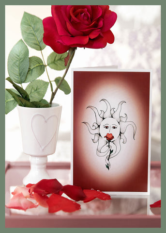 Love-In-A-Flower-Valentine's-Day-Winter-Holiday-Fare-Collection-Love-Heartfelt-Moments-designed-by-T-Cards-by-Bad-Ballerinas-Reality
