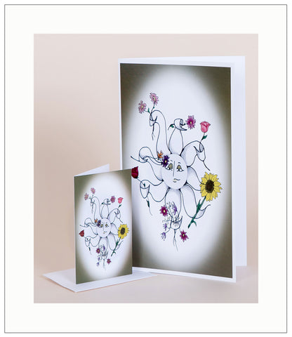 Many_Thanks_to_You_Artisan_T-Card_by_Bad_Ballerinas_Heartfelt_Moments_Greeting_Card_Note_Card_Gift_Enclosure_photo
