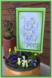 Peep-12x18-Garden-Window-Flag-Fly-Me-The-Sunny-Breezes-Decorative-Flags-Collection-Easter-T-Cards-by-Bad-Ballerinas