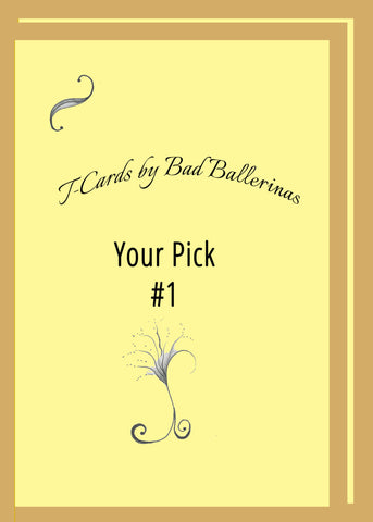 Pick-Your-Six-One-FREE-Card-Collections-T-Cards-by-Bad-Ballerinas-Classy