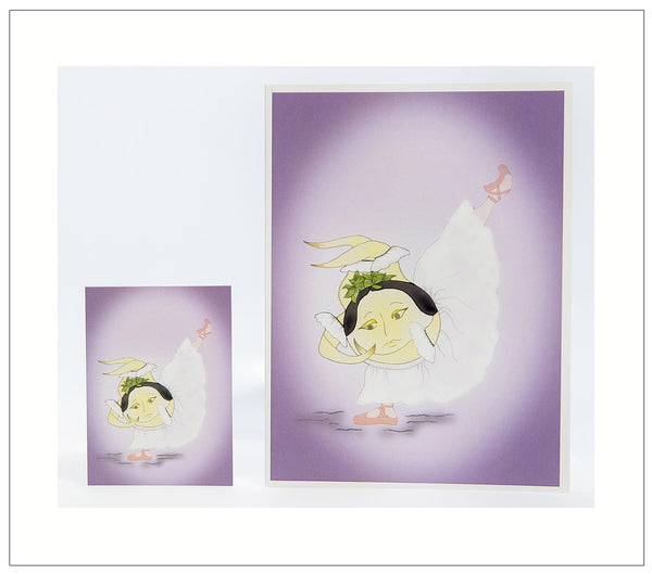 Suniselle_Act-II-The-Sunerinas-Artisan-Greeting-Card-designed-by-T-Cards-by-Bad-Ballerinas-Card-and-Gift-Enclosure