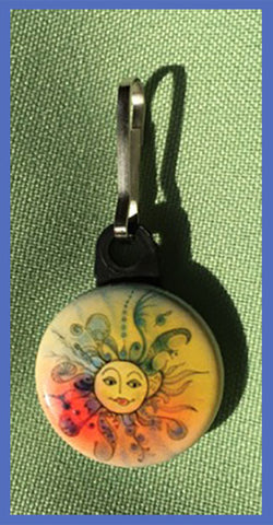 Sunrise-Sunset-The-Sunnies-Songs-and-Sayings-Ups-and-Downs-Zipper-Pulls-Collection-designed-by-T-Cards-by-Bad-Ballerinas