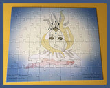 White-Swun-Puzzle-Assemble-Me-The-Suns-In-Pieces-Puzzle-Collection-designed-by-T-Cards-by-Bad-Ballerinas-complete