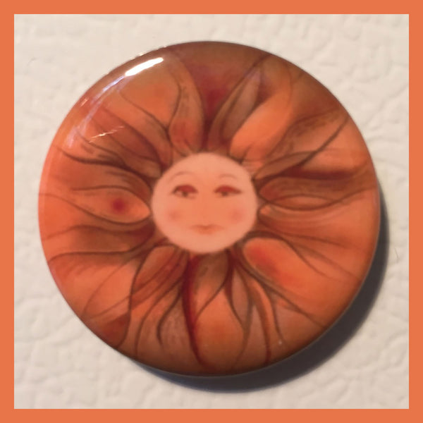 Wisps-Tangerine-Cling-Me-The-Magnetic-Rays-Magnet-Collection-Classical-Notes-designed-by-T-Cards-by-Bad-Ballerinas