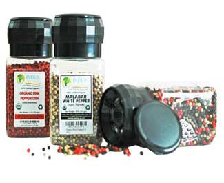 100% Organic Spices with Grinders