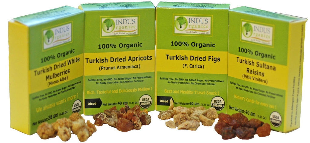 100% Organic Healthy Snack Packs