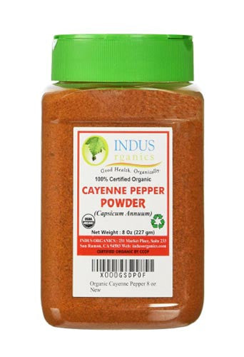 100% Organic Red Pepper/Cayenne Pepper Powder - Indus Organics
