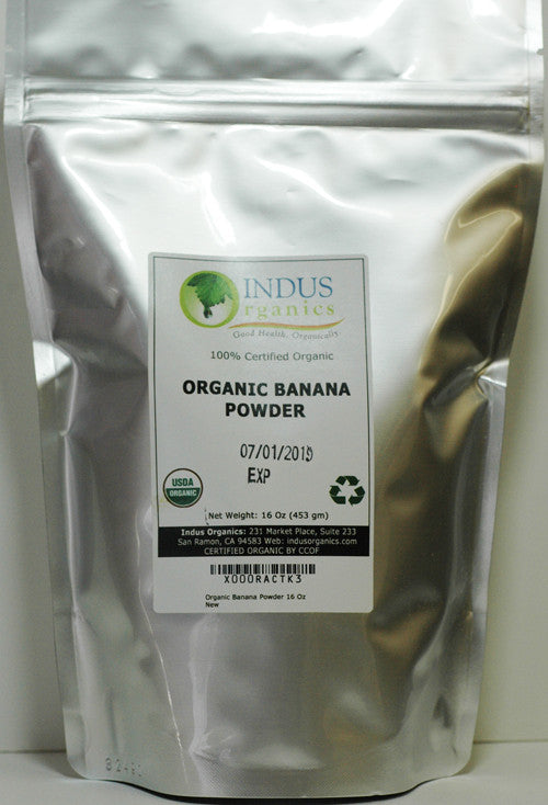 100% Organic Banana Powder