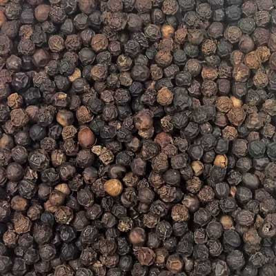 100% Organic Bulk Organic Black Peppercorns (Tellicherry) - Indus Organics