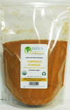 Indus Organic Turmeric (6 % Curcumin) Powder, High Purity, Freshly Packed