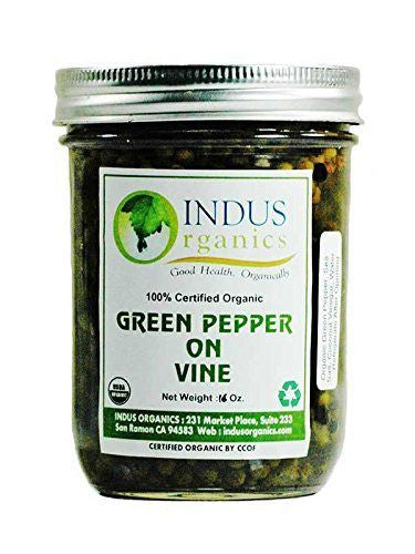 100% Organic Green Peppercorn on Vine - Indus Organics