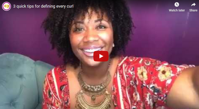 3 quick tips for defining every curl