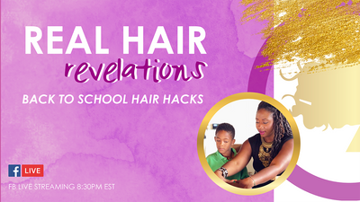 Back to school hair hacks + new Gala Glam tees are in!
