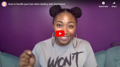 How to handle your hair when dealing with depresssion