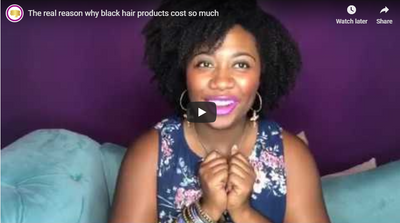 The real reason why black hair products cost so much