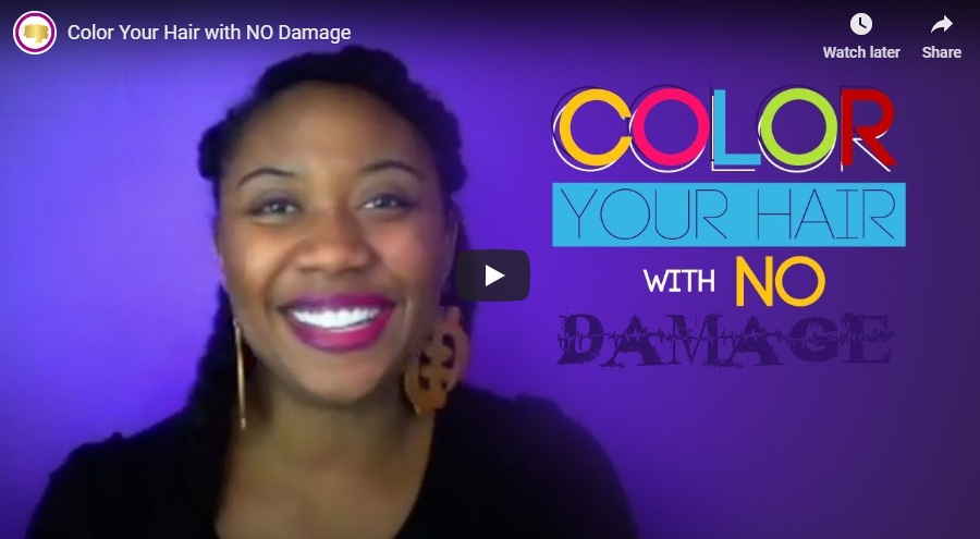 Color Your Hair with NO Damage