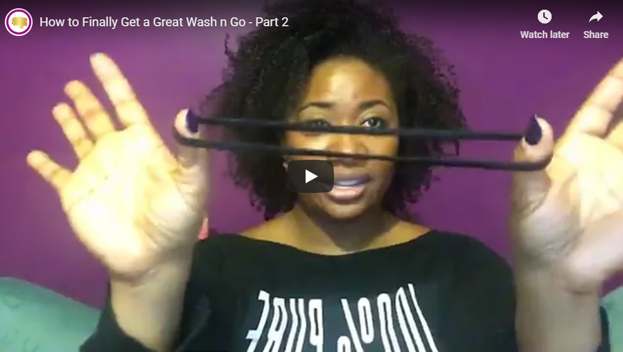 How to Finally Get a Great Wash n Go - Part 2