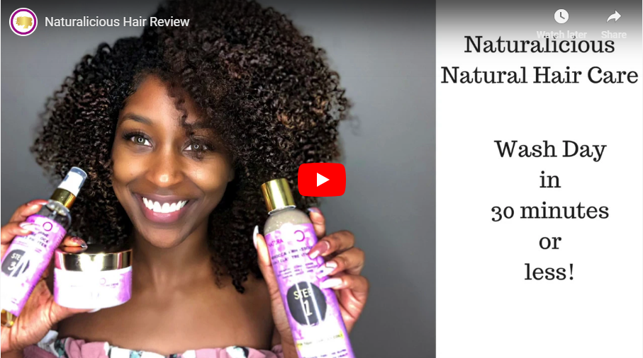 Naturalicious Hair Review