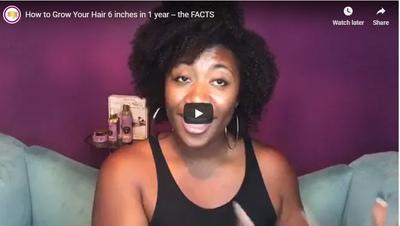 How to Grow Your Hair 6 inches in 1 year -- the FACTS