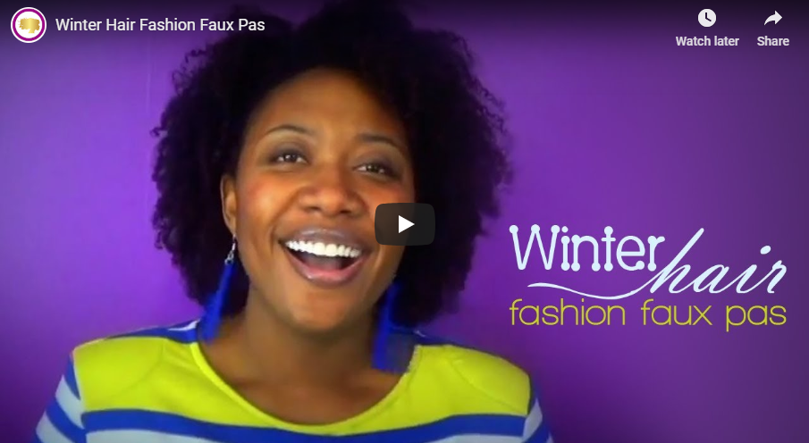 Winter Hair Fashion Faux Pas