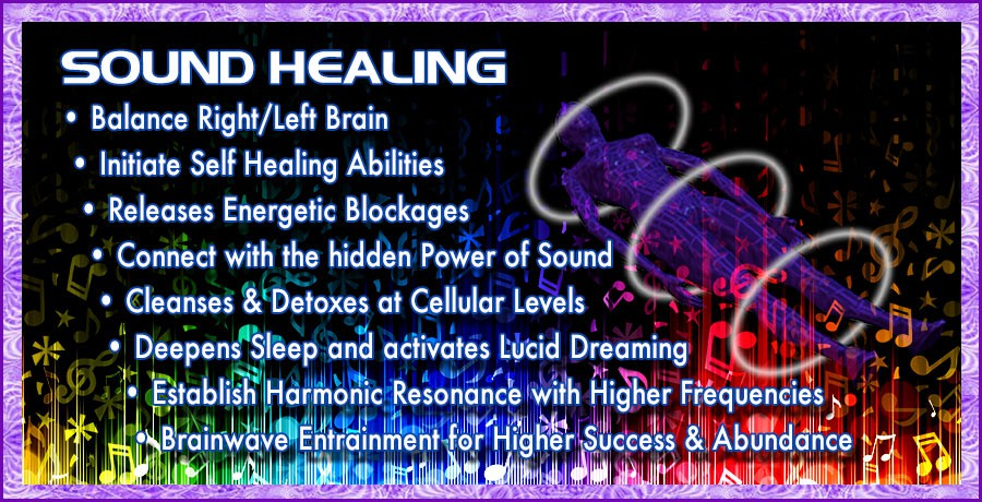 Sound Healing - 60 minute session