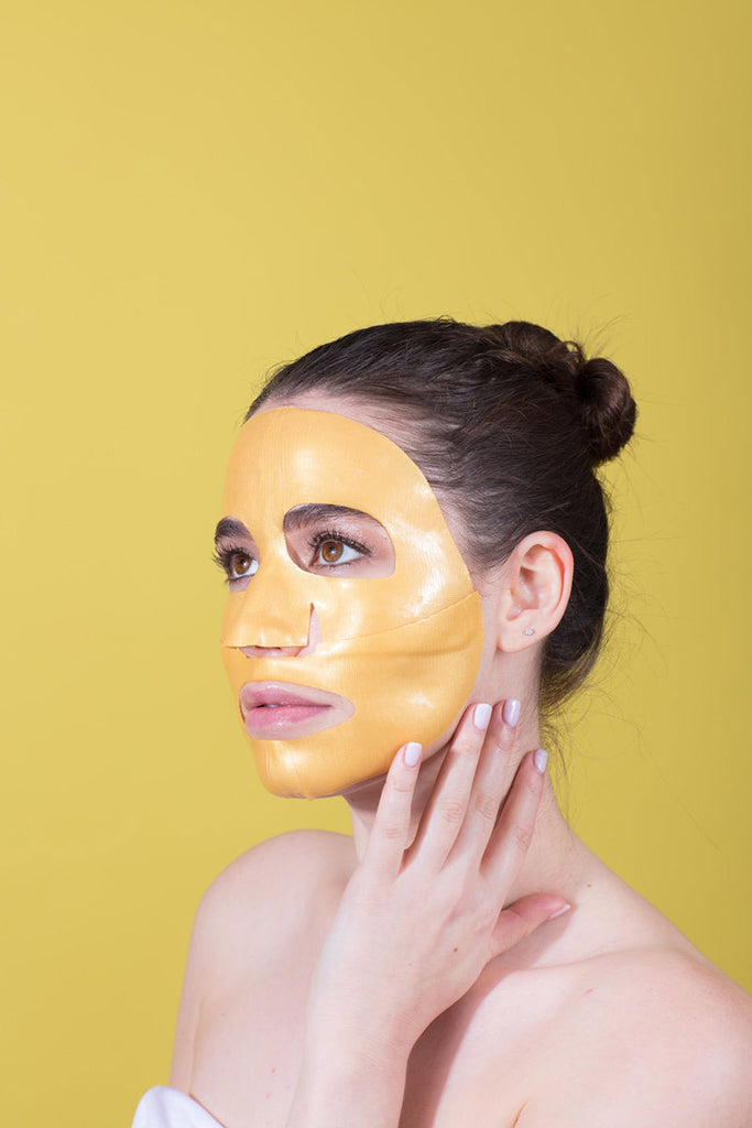 Gold Mask // Flawless By Friday // HEMM Vibes Blog