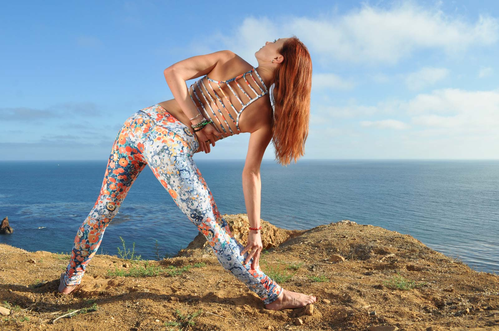 Daub + Design Yoga Leggings