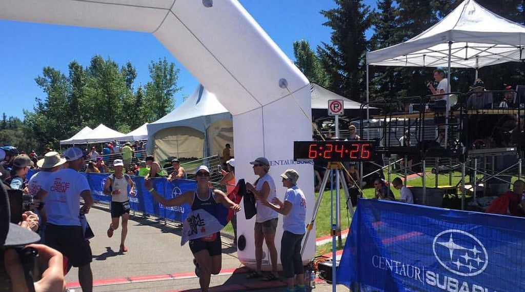 Mallory Chapman // Ironman Finish // HEMM Blog