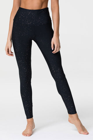 High Rise Legging Gold Dust