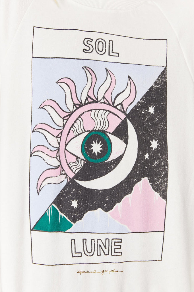 Sol Lune old school pullover