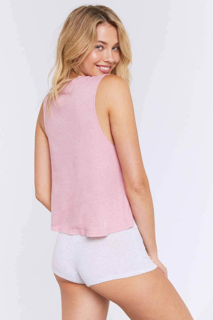 Love Yourself Crop Tank