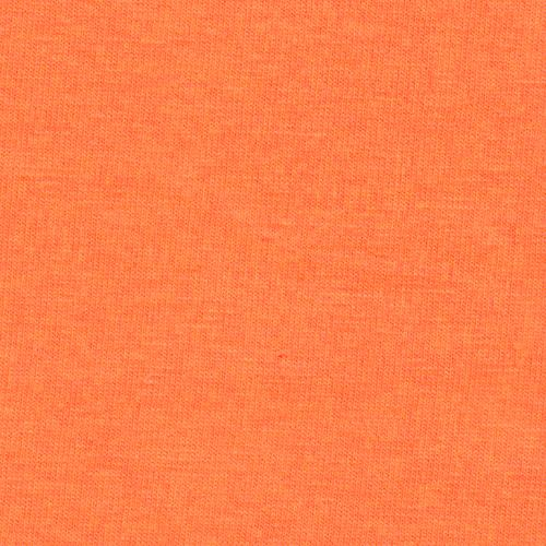 Solid Bright Orange 4 Way Stretch 10 oz Cotton Lycra Jersey Knit Fabric Raspberry Creek Fabrics