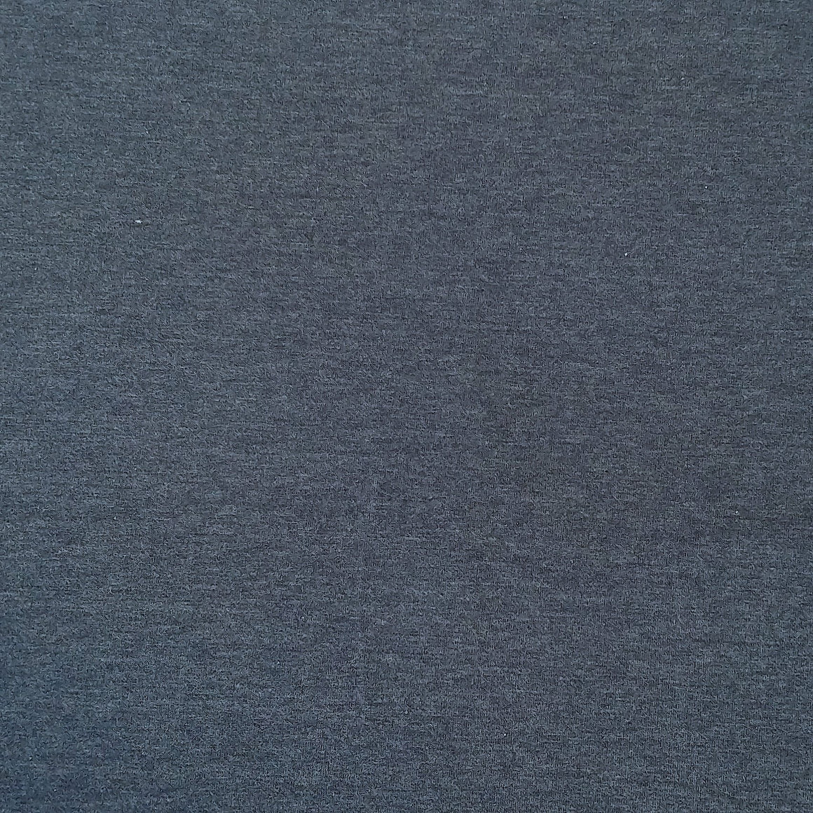 Solid Heathered Dark Denim 4 Way Stretch 10 oz Cotton Lycra Jersey Knit Fabric - Raspberry Creek Fabrics