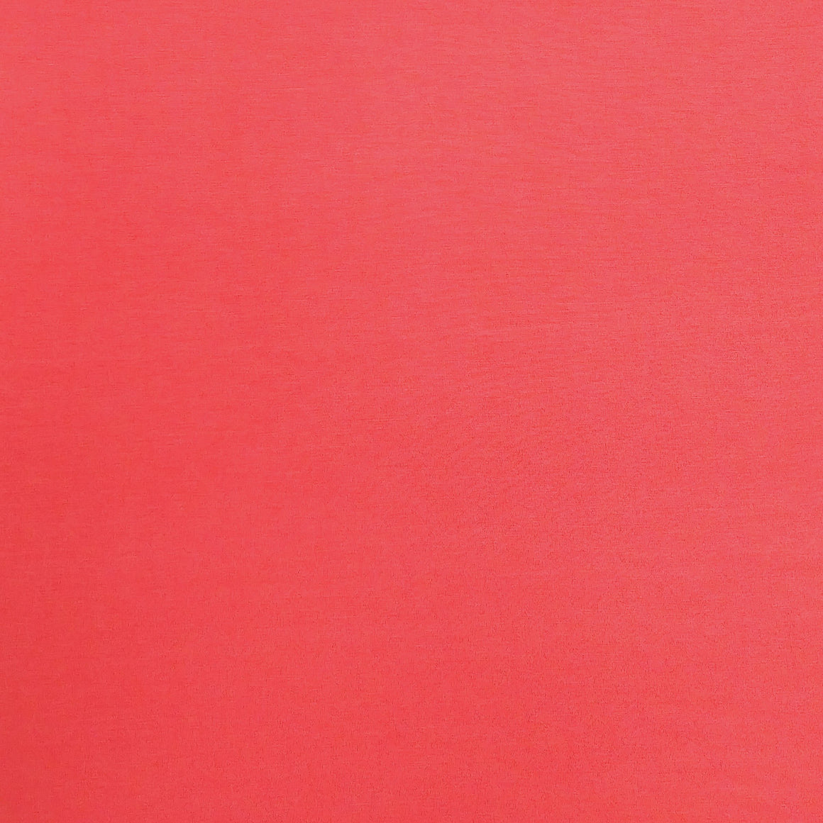 Bright Coral Modal Spandex Jersey Knit Fabric - Raspberry Creek Fabrics