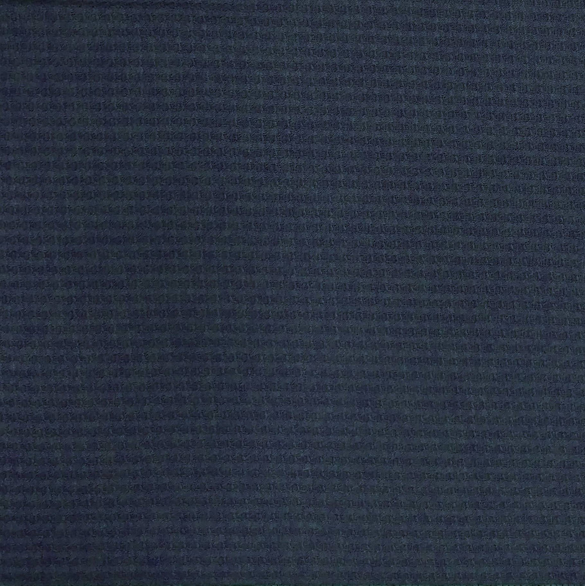 Navy Blue Waffle Knit Fabric - Raspberry Creek Fabrics