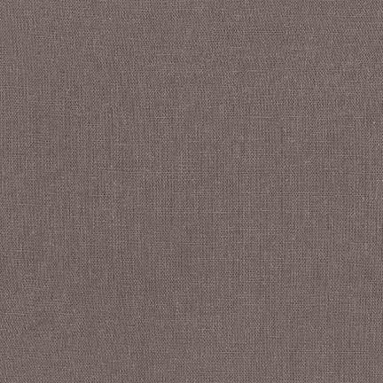 Moss Brown Washable Yarn Dyed Rayon Linen, Brussels Washer Linen Collection By Robert Kaufman, 1 Yard