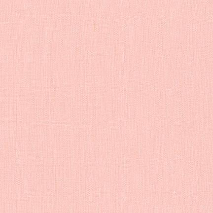 Petal Pink Washable Yarn Dyed Rayon Linen, Brussels Washer Linen Collection By Robert Kaufman - Raspberry Creek Fabrics