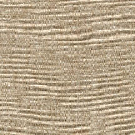 Sorrel Brown Washable Yarn Dyed Rayon Linen, Brussels Washer Linen Collection By Robert Kaufman, 1 Yard