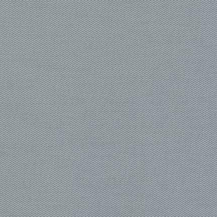 Blue Grey Medium Weight Twill, Ventana Twill Collection by Robert Kaufman, 1 Yard - Raspberry Creek Fabrics