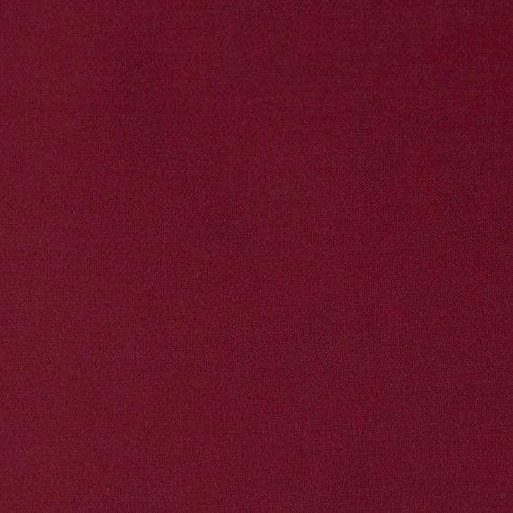 Burgundy Modal Spandex Jersey Knit Fabric, 1 Yard - Raspberry Creek Fabrics