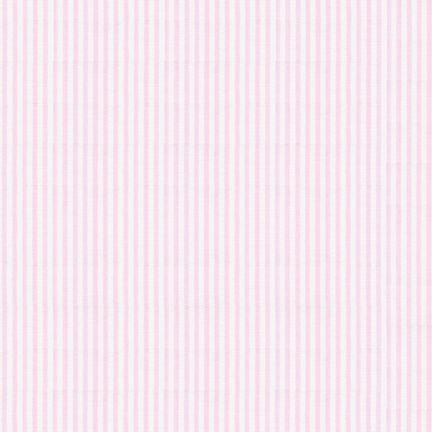 Light Pink Pin Stripe Seersucker, Robert Kaufman Seersucker Collection - Raspberry Creek Fabrics Knit Fabric