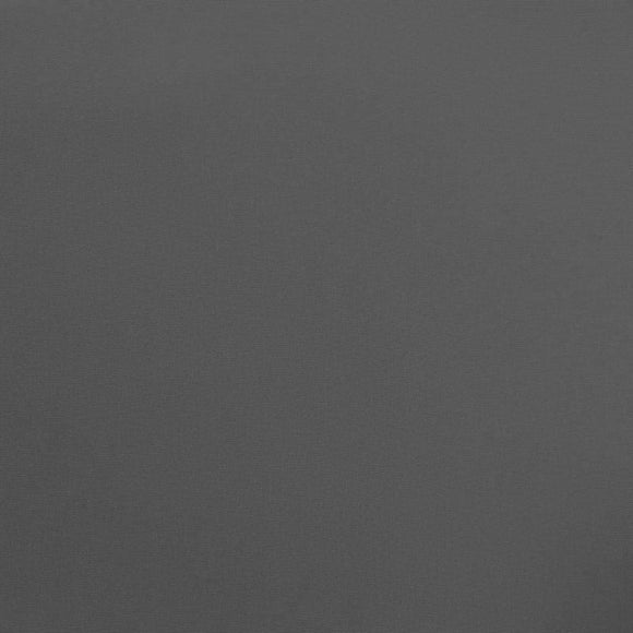 Solid Charcoal Grey Sueded Microfiber Woven Board Short Fabric, 1 Yard